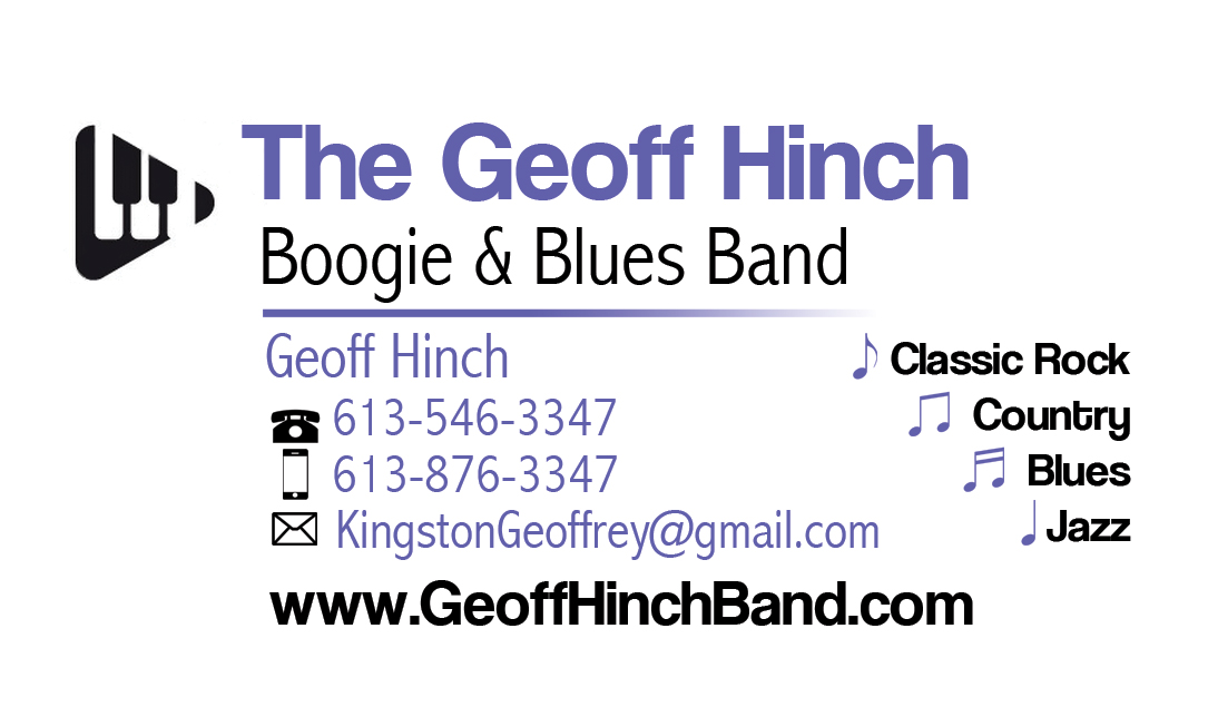 Contact - The Geoff Hinch Boogie & Blues Band